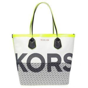 Michael Kors Carolina Graphic Logo Tote Bag